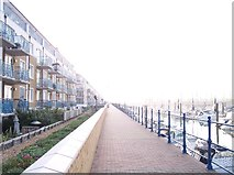 "TQ3303 : The ""Broadwalk"", Brighton Marina by Bob Embleton"