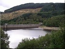 NN5207 : Dam, Glen Finglas reservoir by Chris Eilbeck