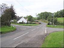 H5064 : Moylagh Crossroads by Kenneth  Allen