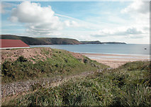 SS0197 : Pembrokeshire Coastal Path by Dennis Turner