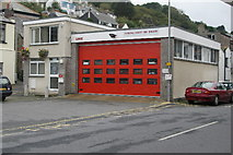 SX2553 : Looe Fire Station by Kevin Hale