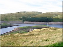 NN9104 : Upper Glen Devon Reservoir. by Richard Webb