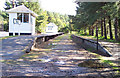 NJ1941 : Knockando station, Morayshire by Ralph Rawlinson
