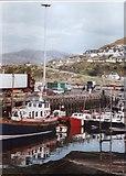 NM6797 : Mallaig Harbour by L J Cunningham