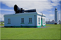 SS9168 : Nash Point Lighthouse by Mike Williams