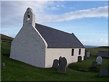 SN1952 : Mwnt Church by Cered