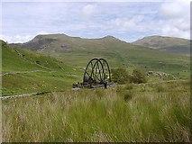 SH5247 : Cwm Ciprwth Waterwheel by David Kitching