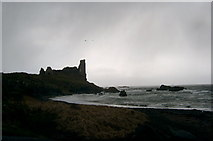 NS2515 : Dunure Castle, Ayrshire by L J Cunningham