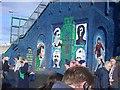 J3272 : Mural near Windsor Park by Gary Pritchard
