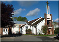 TQ4258 : RC church of St Theresa of the child Jesus by Philip Talmage