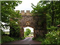 NU2519 : Gateway, Dunstan village by N Chadwick