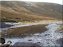 NO0377 : Muddy pool below Carn an Righ by Callum Black