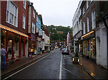 TQ4210 : Cliffe High Street, Lewes by Simon Carey