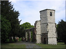 SU6352 : Holy Ghost Ruins by Simon and Alison Downham