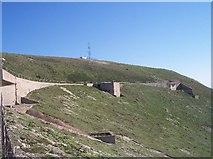 SZ2984 : Black Arrow Test Site, West High Down by Bob Embleton