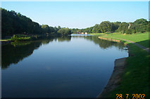 SP8788 : Corby Boating Lake by Nigel Cox