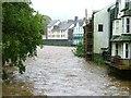 NY2623 : River Greta in Full Flood by Mick Garratt