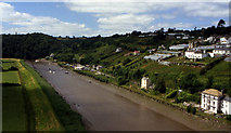 SX4368 : River Tamar from Calstock Viaduct by Crispin Purdye