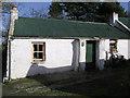 H4677 : Cottage at Erganagh Glebe by Kenneth  Allen