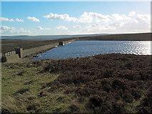 SD9839 : Keighley Moor reservoir by David Spencer