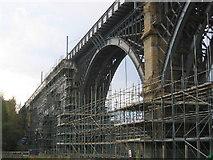 NZ3166 : Railway Viaduct over Willington Gut by Alan Fearon