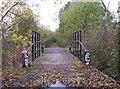 NZ2472 : Bridge on Disused Wagonway by Weston Beggard