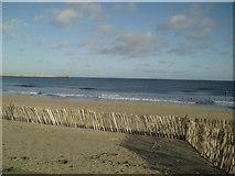 NZ3766 : Beach near the lifeguard station by MSX