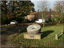 TG1508 : Millstone, Bawburgh by Katy Walters
