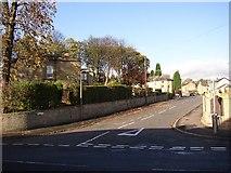 SE1321 : Bottom end of Field Lane, Rastrick by Humphrey Bolton