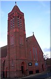 SJ3588 : St Gabriel's Church, Toxteth by S Parish
