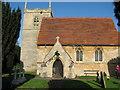 SK8354 : All Saints Church Coddington by Bob Danylec