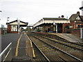 J1587 : Antrim Railway Station by Brian Shaw