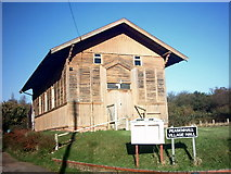 TM3569 : Peasenhall Village Hall by Geographer