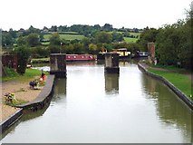 ST9661 : Lower Foxhangers - Kennet  & Avon Canal by Michel Van den Berghe