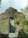 SX3384 : Launceston Castle by Rob Farrow