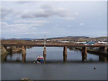 NS3975 : Dumbarton Railway Bridge by william craig