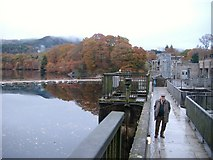 NN9357 : Pitlochry Dam and Faskally by Kirsty Smith