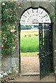 NO1202 : Garden gate of Kinross House . by Peter Ward