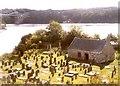 SH5571 : St Tysilio's Church on Church Island, Menai Bridge by Humphrey Bolton