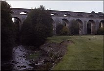 SJ2837 : Chirk Aqueduct and Viaduct by Chris Heaton