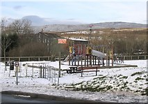 SN7313 : Playground at Rhosaman by Nigel Davies