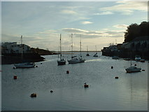 SH5638 : Porthmadog Harbour by David Medcalf