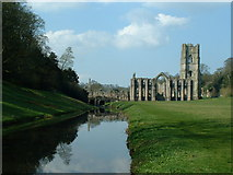 SE2768 : Fountains Abbey by Nigel Homer