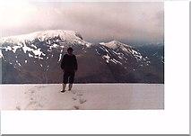 NN1666 : Sgurr a' Mhaim summit by John Naisbitt