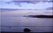 O2756 : Fishing in Loughshinny by John Cooney