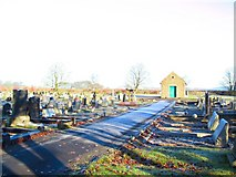 SK1576 : Tideswell Cemetery by Roger May