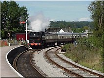 SO6302 : Lydney Junction Station, Dean Forest Railway by John Thorn