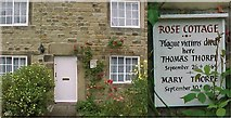 SK2176 : Eyam Derbyshire Plague Cottage by mickie collins