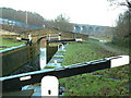 SE1719 : Ladgrave Lock on the Huddersfield Broad Canal by Nigel Homer