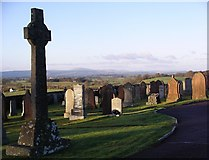 NY1281 : Dryfesdale cemetery & garden of remembrance, Lockerbie by Lynne Kirton